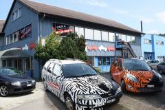 Car Wrapping bei PR Kreativ GmbH