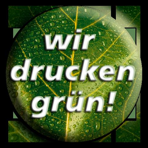 Wir denken weiter – und drucken grün!